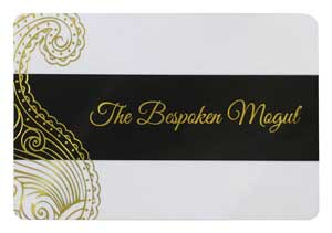 Gold Foil Stamped Plastic Card Printing